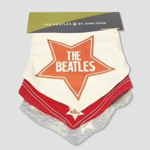 5/$25 Set of 3 Junk Food Beatles Bibs